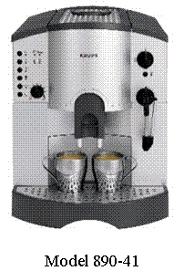 Picture of Recalled Espresso Maker 890-41