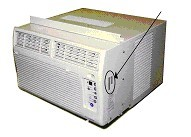 Picture of Recalled Air Conditioner