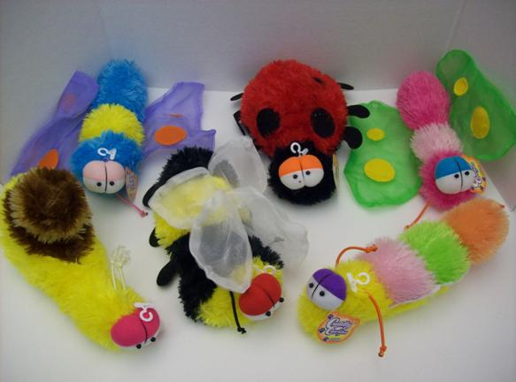 Picture of Recalled Cuddly Cousins Plush Insect Toys
