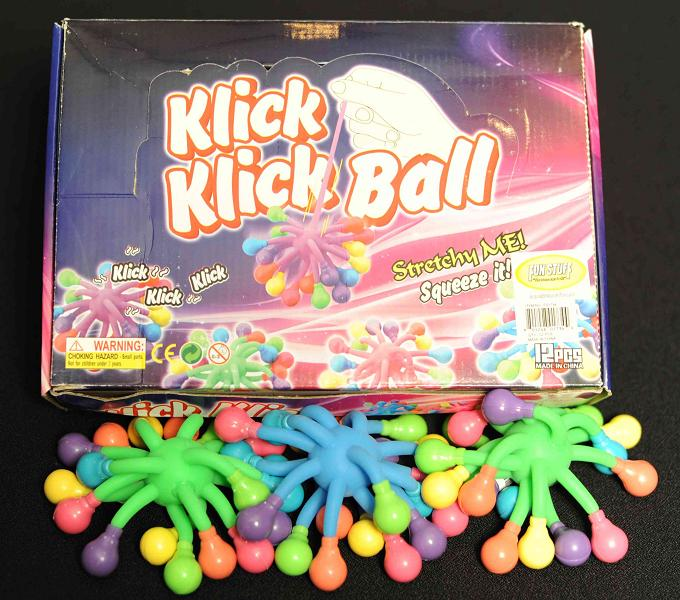 Recalled Klick Klick balls