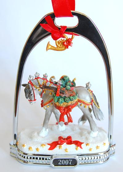 2007 Wintersong Stirrup Ornaments
