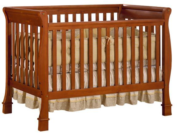 Picture of Recalled Dark Pine Olympia Lifetime Crib