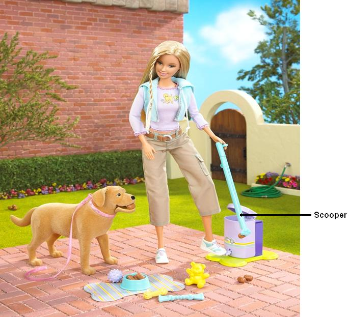 Picture of Recalled Barbie play set