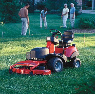 Picture of Recalled Lancer Riding Lawn Mower
