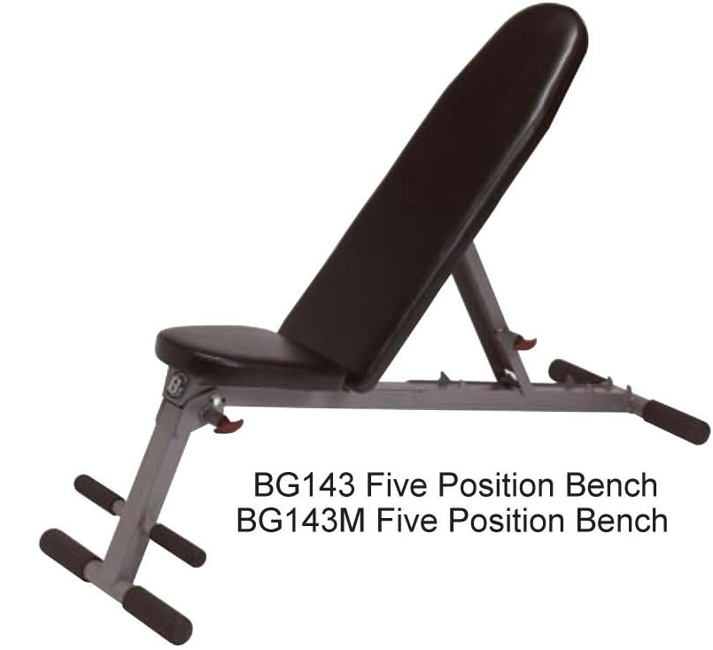 Picture of BG143, BG143M Five-Position Bench