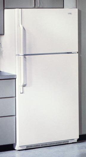 Picture of Recalled Top Freezer model Refrigerator