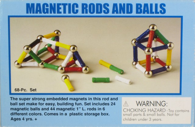 Picture of Recalled Battat Magnabild Magnetic Building Toys or Sets