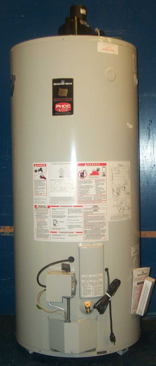 Bradford White 75-Gallon Power Vented Gas Water Heater Recall