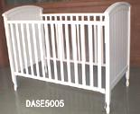 Picture of Recalled Cottage Hill Single Crib - White Model # DASE5005