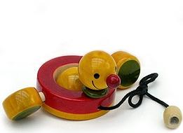 Picture of Duby Duck Pull Toy