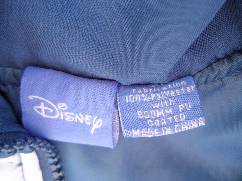Recalled Disney jacket label