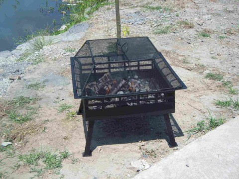 Picture of Recalled Grand Gourmet Firepit