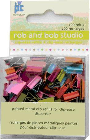 Picture of Recalled Rob and Bob Studio Clip-Ease model number 28-1085 metal clips