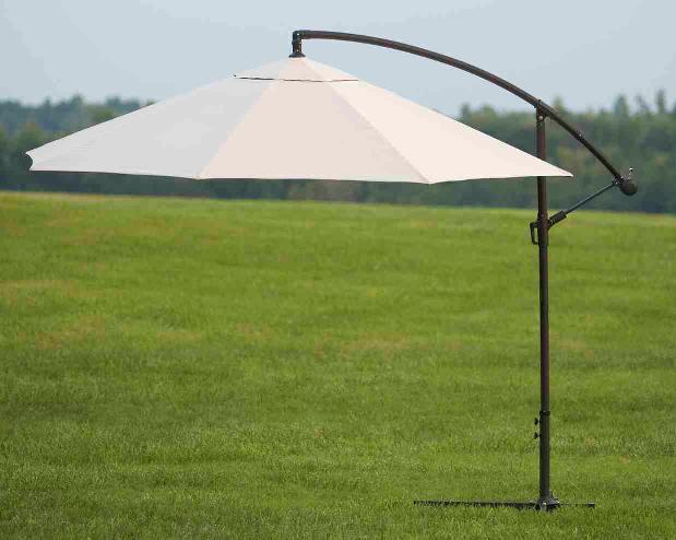 Picture of Recalled Offset Patio Umbrella - Home Depot Recalls Patio Umbrellas Due To Risk Of Impact Injury