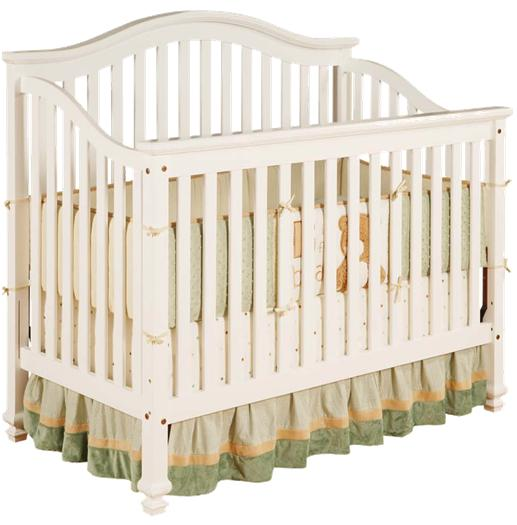 Picture of Recalled White Capri Lifetime Crib