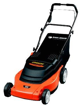 Black & Decker brand cordless electric lawnmower
