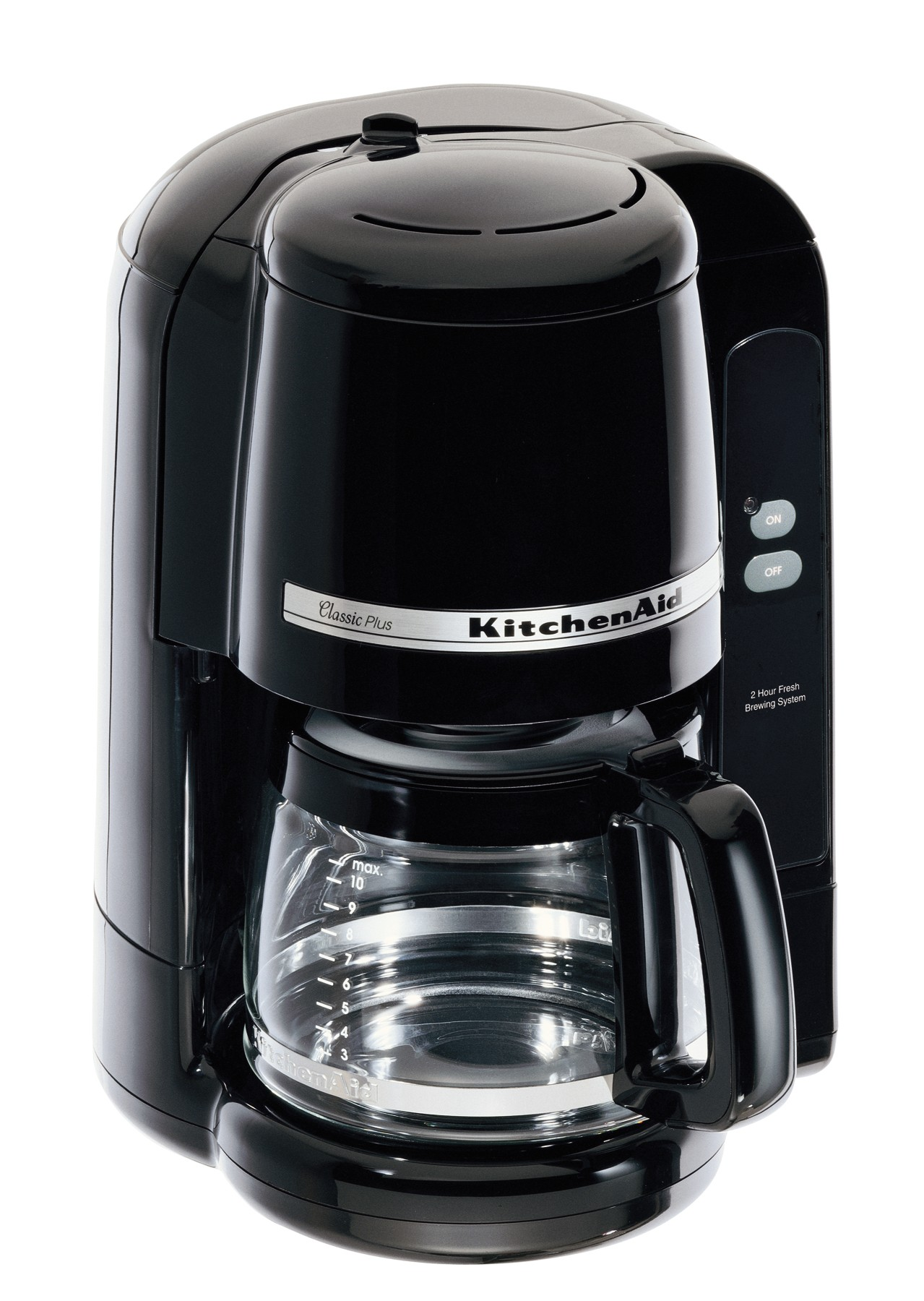 picture of recalled coffeemaker 10cup model black