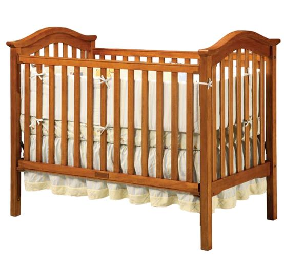Picture of Recalled Antique Walnut Capri Single Crib
