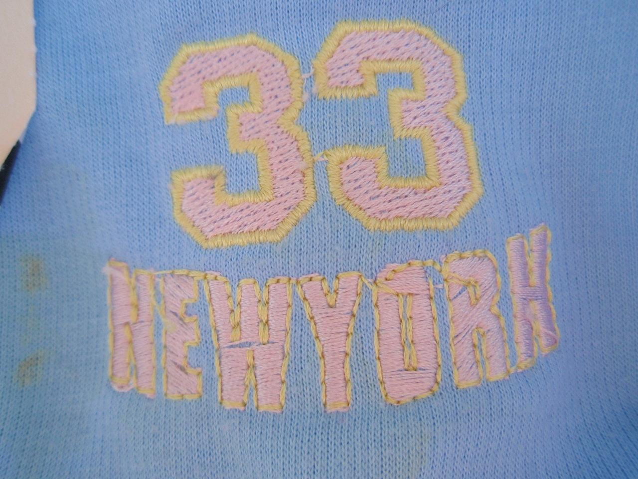 "Recalled New York jacket ""33 New York"" embroidery"