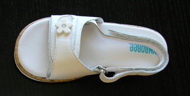 Picture of Recalled Baby Sandal