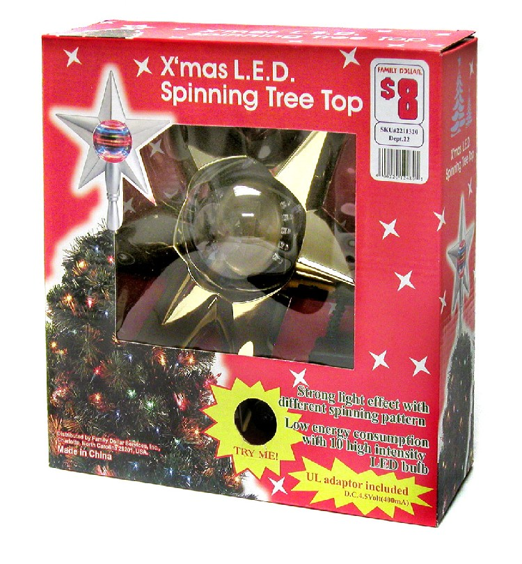 Family Dollar Christmas Trees.Cpsc Family Dollar Stores Announce Recall Of Spinning Star