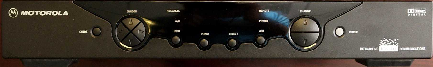Picture of set-top box