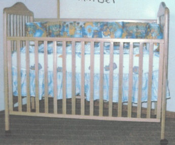 Picture of Recalled Amber Model Crib